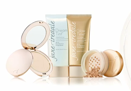 Jane Iredale Kosmetik für natürliches Make-up bei Cosmetic Claudia Sprinkart in KEmpten