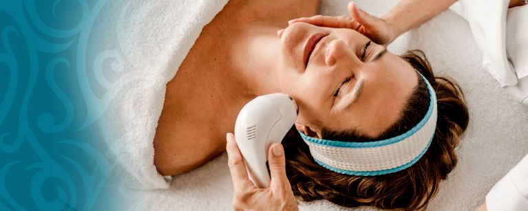 Ultraschall Hautbehandlung Sonophorese
